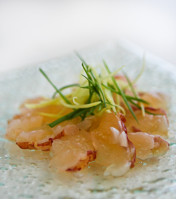 Nobu Lobster Carpaccio