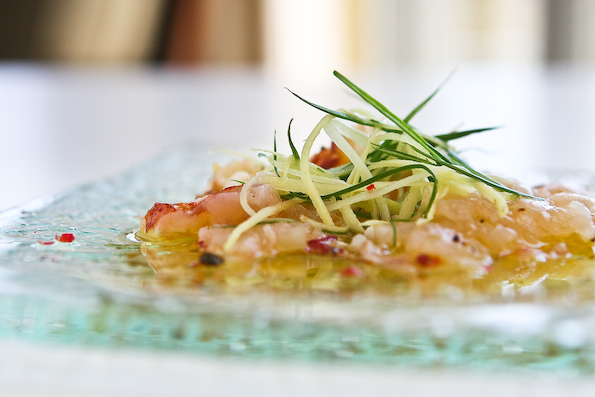 nobu s lobster carpaccio steamy kitchen recipes nobu lobster carpaccio ...