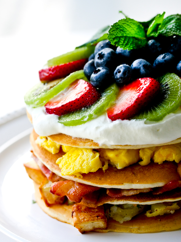 The Ultimate Breakfast Pancake