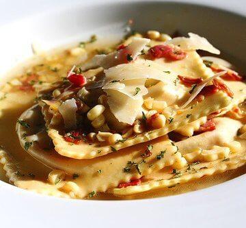 roasted-vegetable-ravioli-with-crispy-pancetta