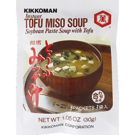 packet of miso soup
