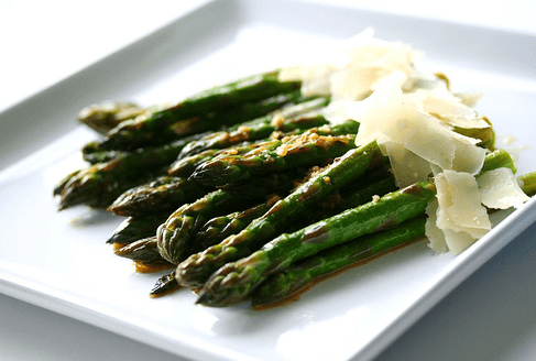 Slow Butter Braised Asparagus • Steamy Kitchen Recipes