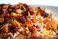 persian-sour-cherry-saffron-rice-polow