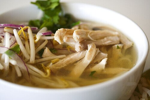 Pho Ga Vietnamese Chicken Noodle Soup Steamy Kitchen Recipes Giveaways