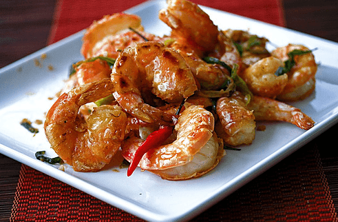 Malaysian Coconut Prawns with Cognac + 100 Inches of Glorious Press