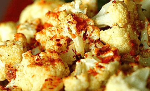 Roasted Cauliflower with Dukkah