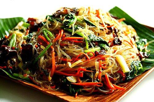 Korean Glass Noodles – Jap Chae / Chap Chae