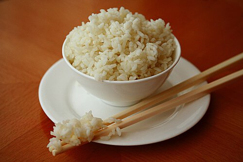 Perfect steamed rice recipe steamy kitchen recipes ccuart Image collections