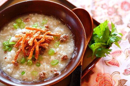 Beef Congee (Rice Porridge) + PBS Show