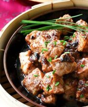 Chinese Steamed Spareribs with Black Bean Sauce Recipe