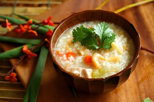 Leftover Turkey Recipe: Chinese Congee (Rice Porridge or Jook)