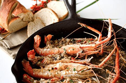 Roasted Garlic Shrimp Recipe