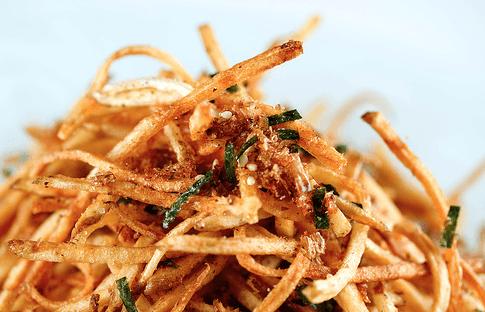 Japanese Furikake French Fries Recipe
