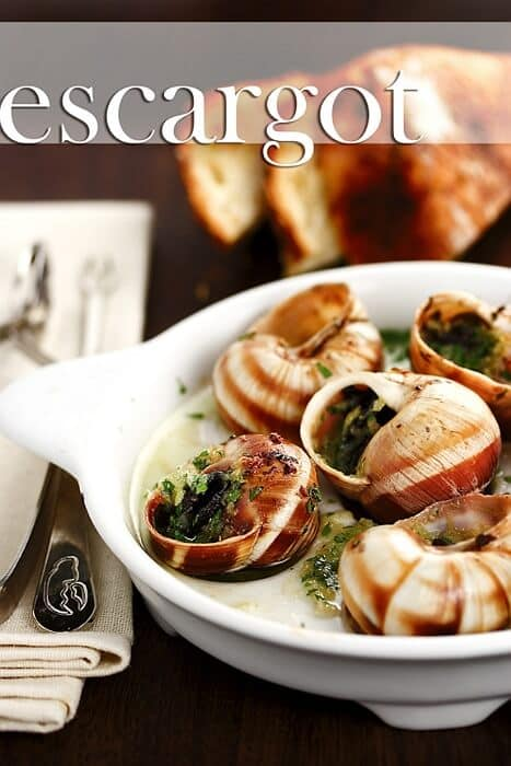 Escargot with Garlic Butter and Splash of Cognac