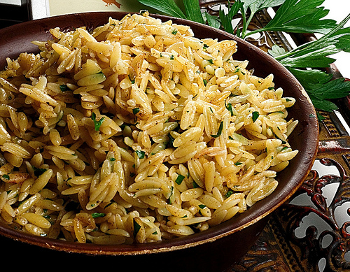 Orzo with Brown Butter and Cinnamon