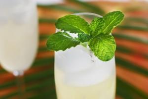 Sparkling Ginger Lime & Mint Cooler