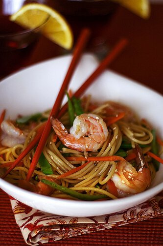 Long Life Fertility Noodles Recipe with Happy Shrimp