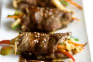 Pan Seared Steak Rolls