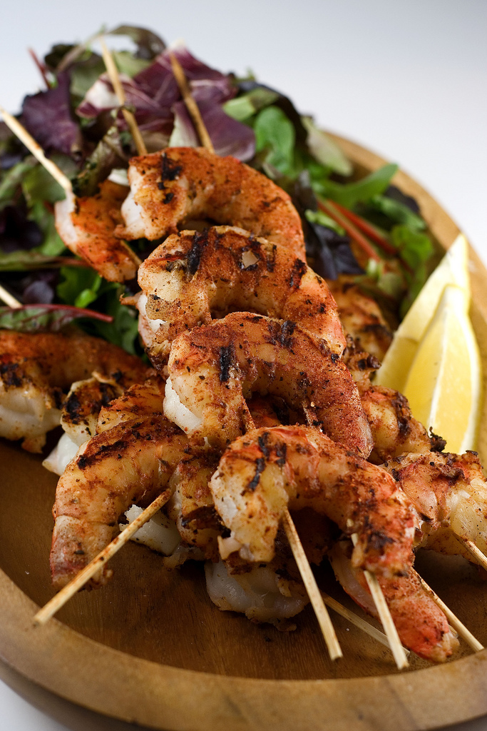 Dr. BBQ's Barbecued Barbecue Shrimp