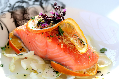 Tropical Island Salmon