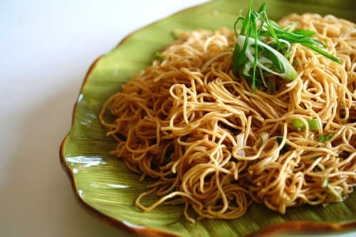 Garlic Scallion Noodles