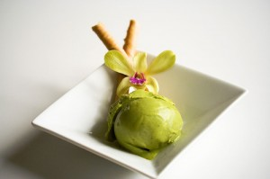 White Chocolate Matcha Green Tea Ice Cream