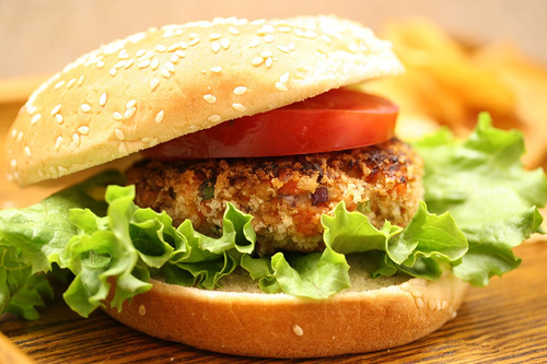 Asian Salmon Burgers Recipe