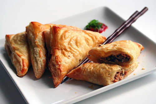 Chinese BBQ Chicken Pastries