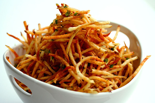 Garlic Truffle Fries • Steamy Kitchen Recipes