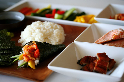 Make Sushi Handrolls