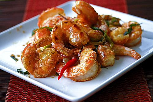 Malaysian Coconut Prawns with Cognac