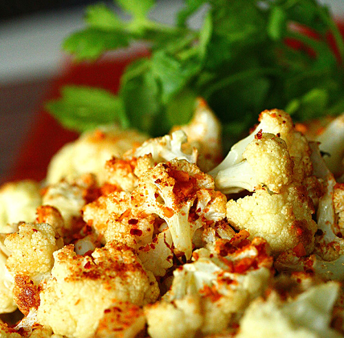 Roasted Cauliflower with Dukkah