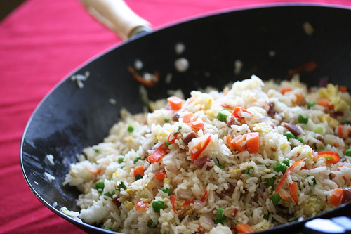 Secrets to cooking the best chinese fried rice steamy kitchen recipes fried rice ccuart Image collections