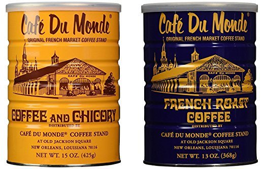 Cafe Du Monde is the most popular brand of coffee for Vietnamese Iced Coffee