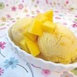 Carmelized Mango Ice Cream
