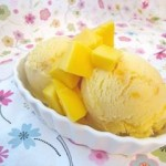 Carmelized Mango Ice Cream