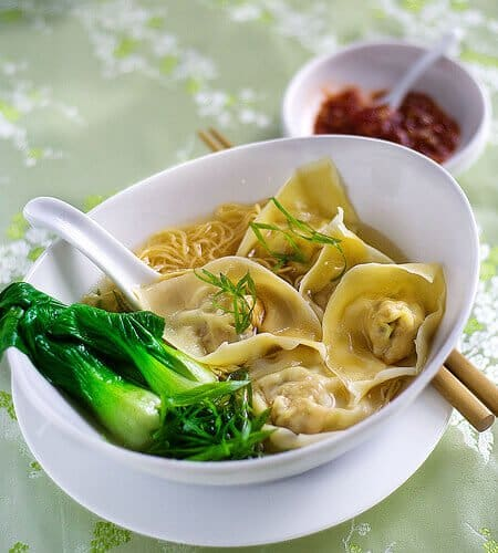 Wonton Noodle Soup - Steamy Kitchen Recipes
