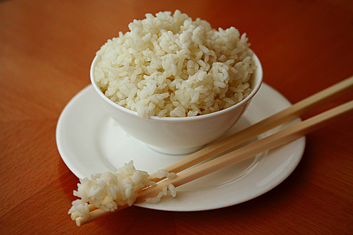 Image result for steamed rice in china