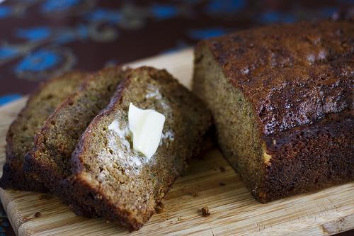Cardamom Coffee Zucchini Bread