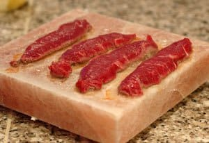 Steaks on Himalayan Salt Block