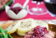 Duck Breast with Sweet and Sour Cranberry Chutney Recipe