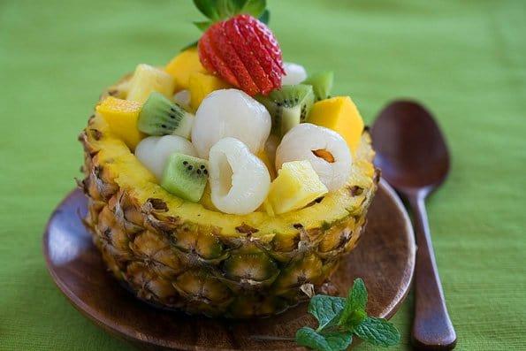 Asian Tropical Fruit Salad