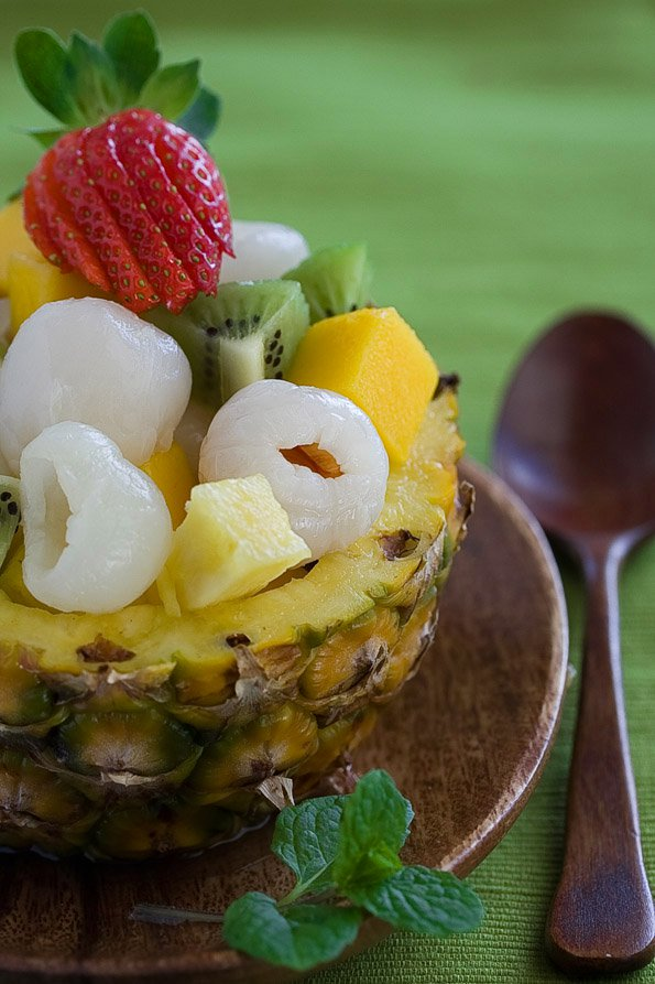 Asian Tropical Fruit Salad Recipe
