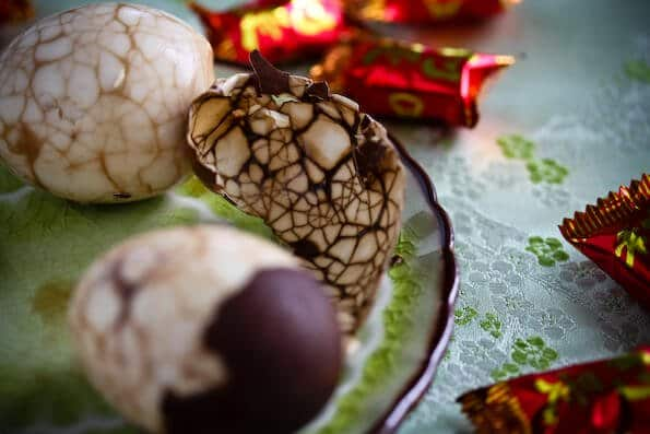 Chinese Marbled Tea Egg Recipe | Steamy Kitchen Recipes