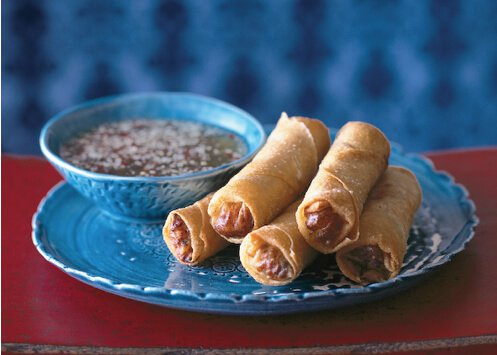 Red Lantern Crisp Parcels (Cha Gio or Spring Rolls) • Steamy Kitchen Recipes