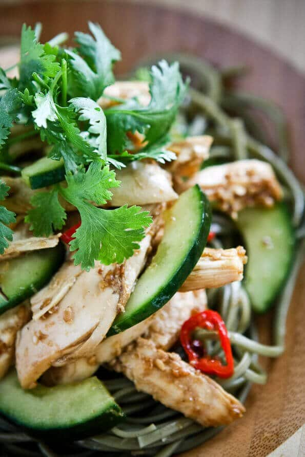 Delicious Days' Asian Sesame Chicken Noodle Salad - Steamy ...