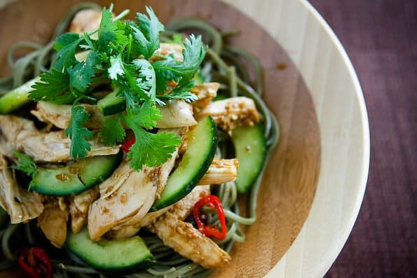 Delicious Days' Asian Sesame Chicken Noodle Salad • Steamy ...