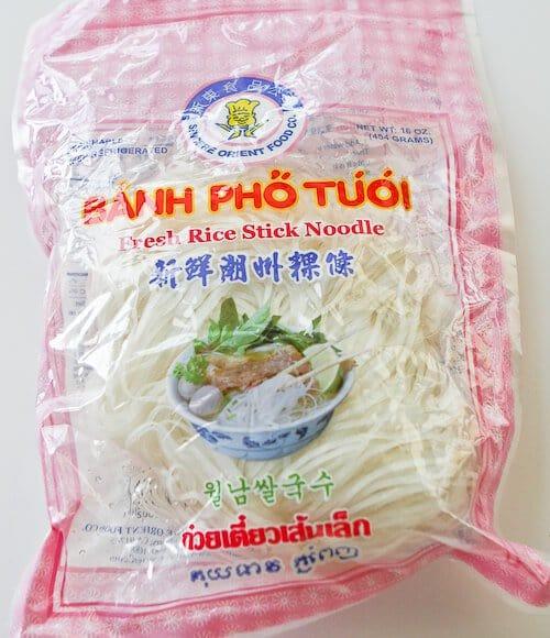 Crock Pot Pho Noodles