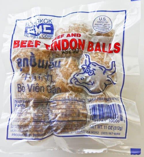 Crock Pot Pho Beef Balls