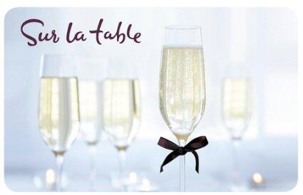 $50 Sur La Table Gift Card